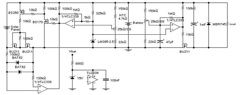 Схема простейшего контроллера