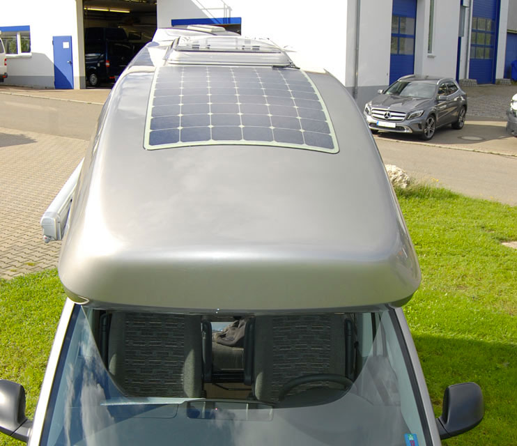 модуль PayPower® на крыше автодома