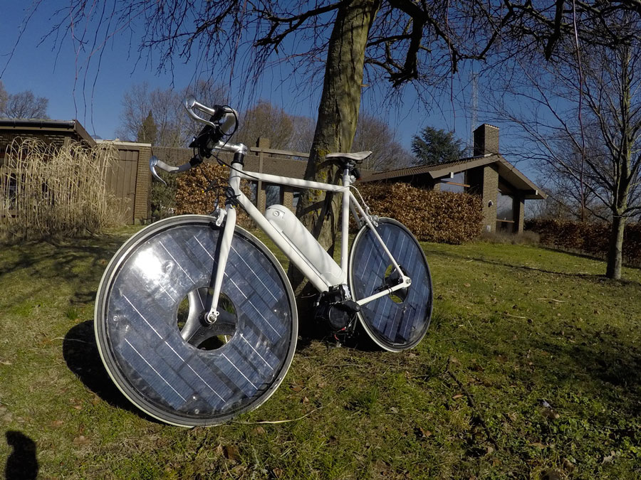 Велосипед с солнечным приводом