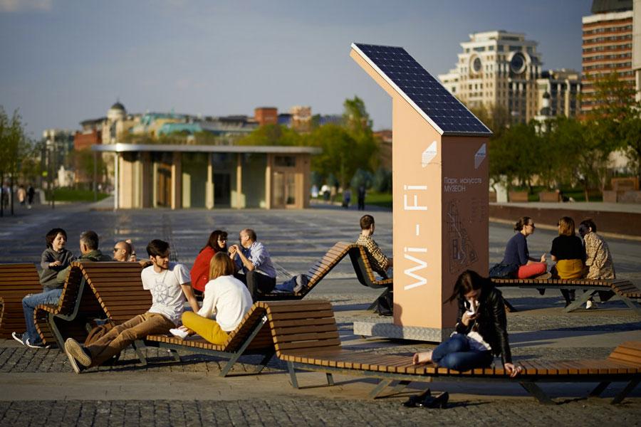 Станция Wi-Fi на солнечных батареях