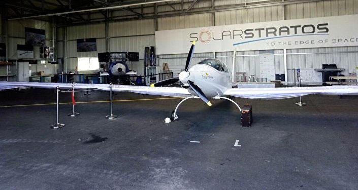 самолет «SOLARSTRATOR»