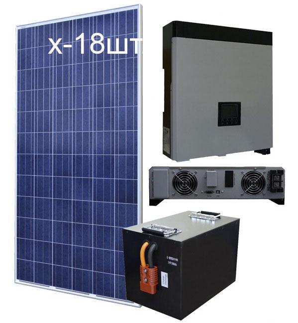 Комплект гибридной домашней электростанции