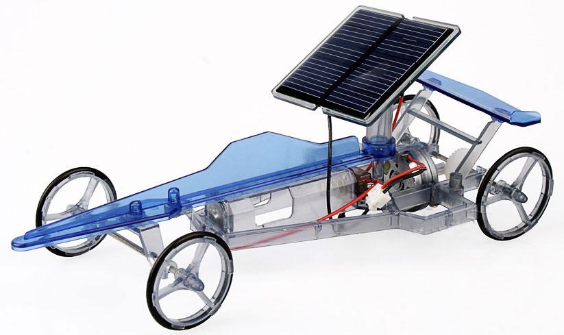 болид на солнечных батареях