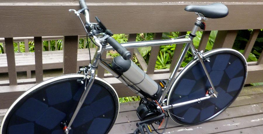 Велосипед Solarapplab