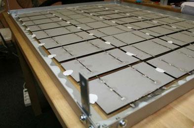 солнечная панель из фотоэлементов