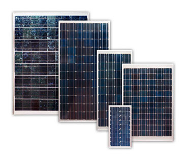 Солнечные панели разных размеров