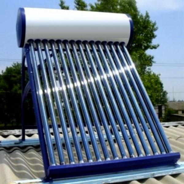 Солнечный нагреватель воды своими руками